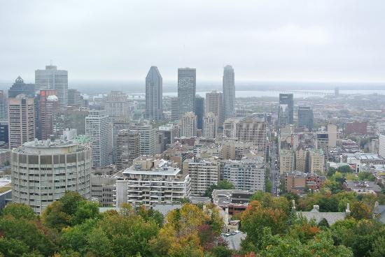 Hotel Ambrose: Uitzicht vanaf parc de Mont Royal
