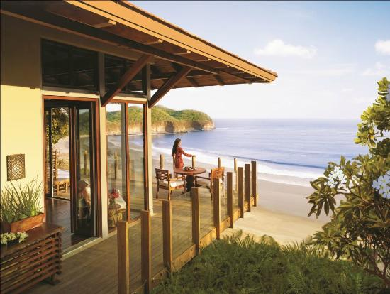 Mukul Beach Golf & Spa: Oceanfront Bohio •Like tree houses nestled in the lush canopy.