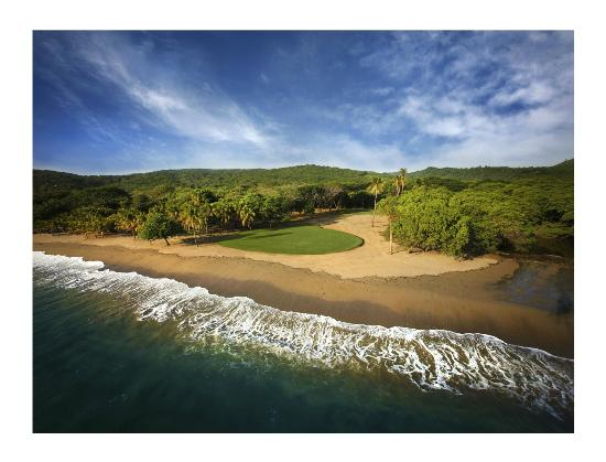 Mukul Beach Golf & Spa: 18th Hole at Guacalito Golf Club