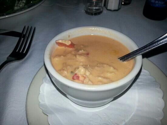 Clarke Cooke House : Seafood bisque