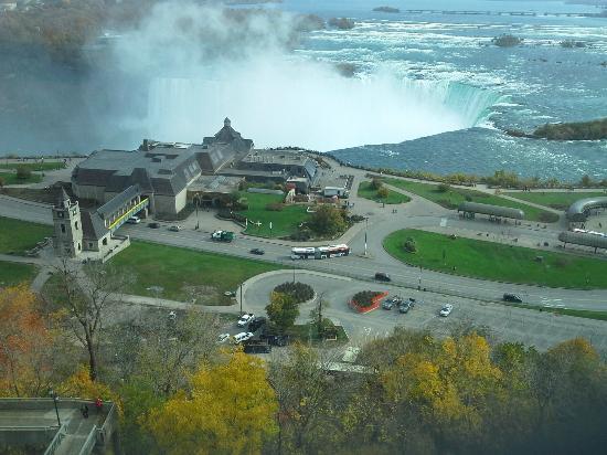 Niagara Falls Marriott Fallsview Hotel & Spa: View from room 16th floor