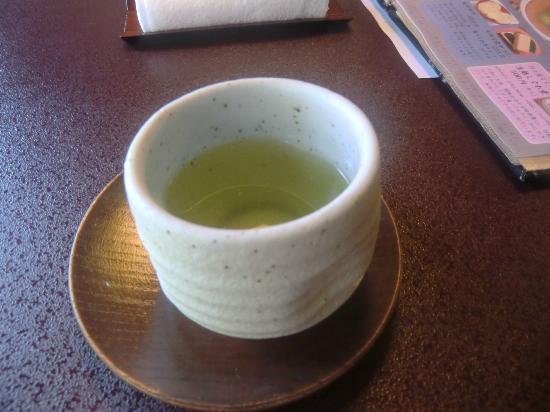 Hachinoki Kitakamakuraten: 綠茶