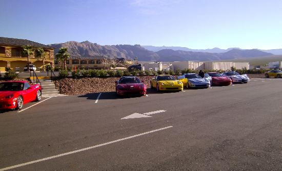 Spring Mountain Motor Resort and Country Club: The cars you practice in