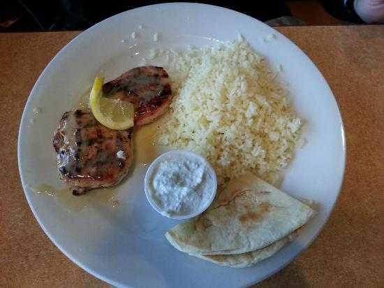 Papa Gyros: Lemon chicken