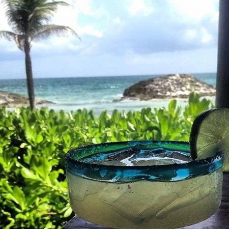 El Pez Colibri Boutique Hotel: Welcome Margarita!
