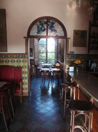 Hostal Corona : Dining room