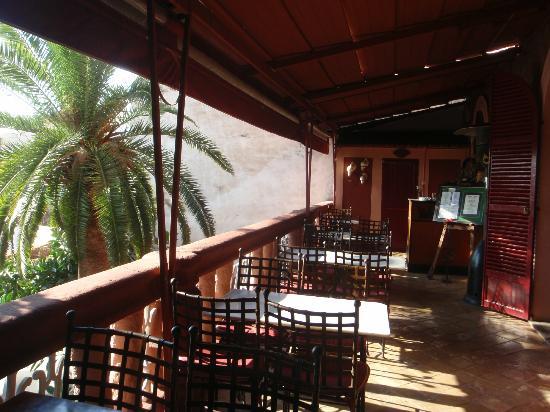 Hostal Corona : Balcony