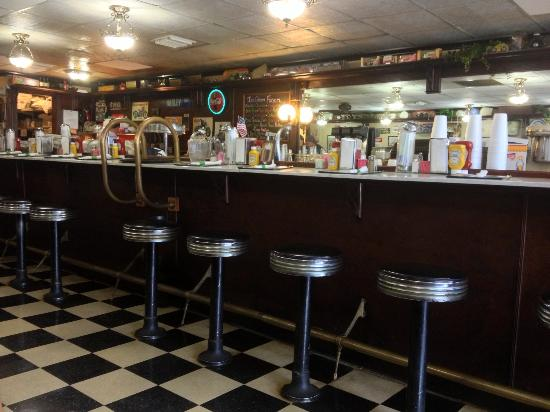 Soda Fountain of Venice: Great little restaurant