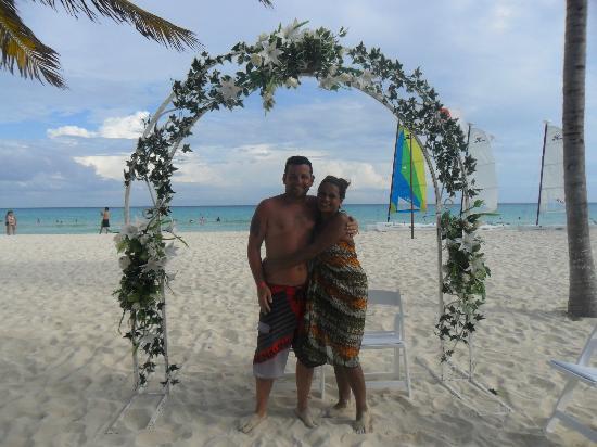 Hotel Riu Playacar: vivan los novios!!!