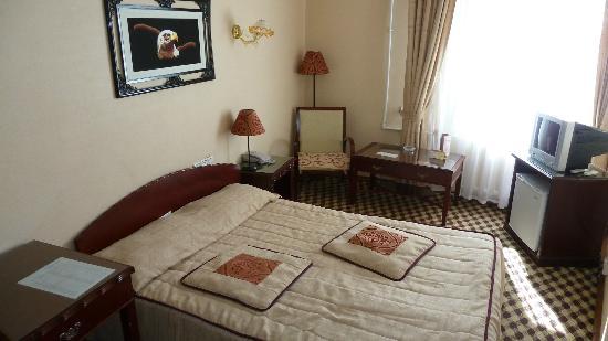 Asia Bukhara Hotel: Standard-Zimmer. NIchts auszusetzen.