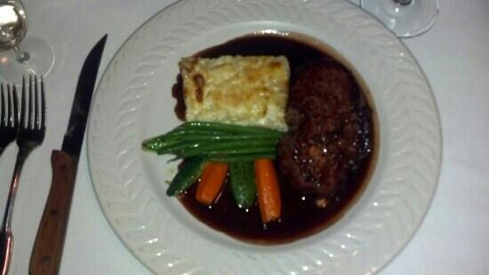 Louisiana Purchase : Beef tenderloin yukon potatoes, fresh veggies. delicious!