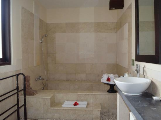 Bebek Tepi Sawah Villas & Spa: Bathroom