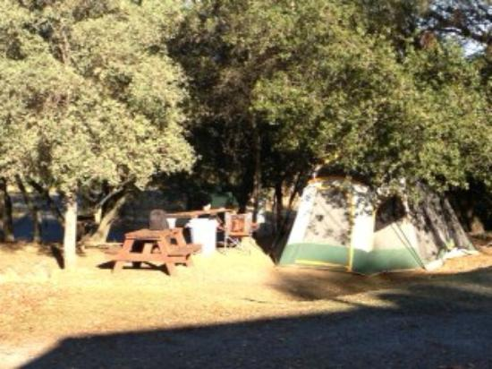 Placerville KOA: Just 1 of many tent sites