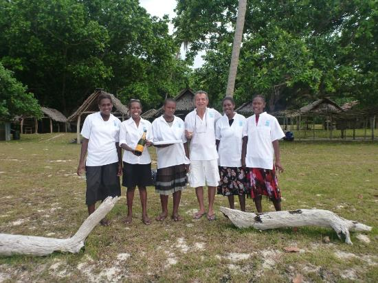Village de Santo Resort : Some of the very heplful team from Village de Santo who relocated for us for our Wedding Ceremon