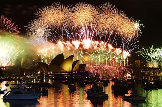 Sydney New Year's Eve. Credit: Peter Wing, Royal Botanic Gardens
