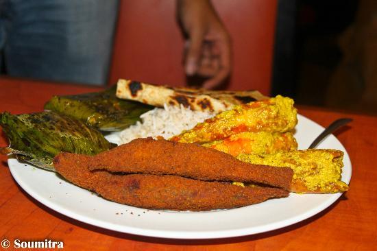 6 Ballygunge Place: Durga Puja Buffer on 2011 - Shasthi Lunch