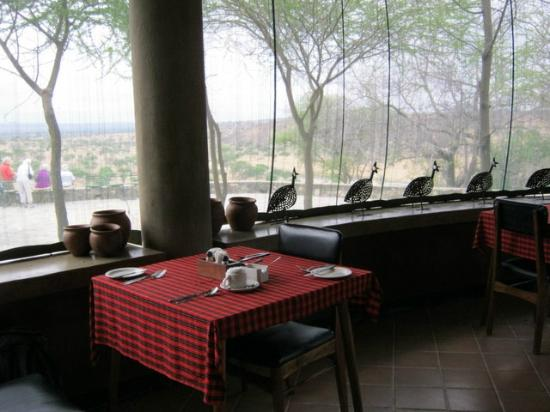 Tarangire Safari Lodge: Restaurant view
