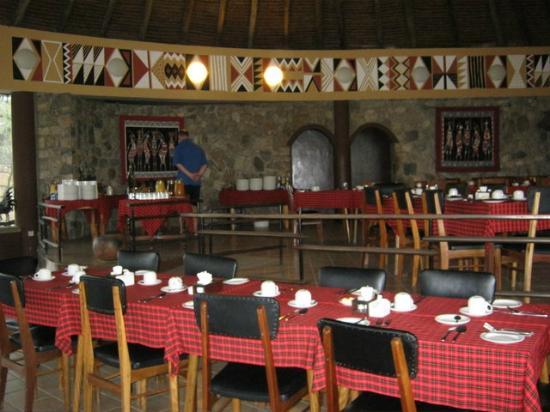 ‪‪Tarangire Safari Lodge‬: Restaurant‬