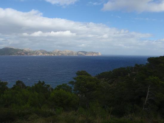 Petit Hotel Hostatgeria La Victoria: View of Cap de Formentor