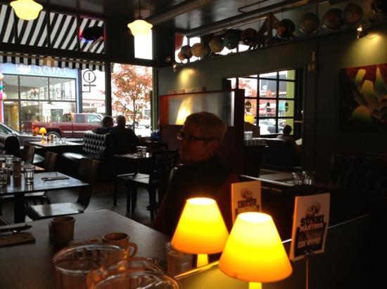 Astoria Coffeehouse: Nice setting