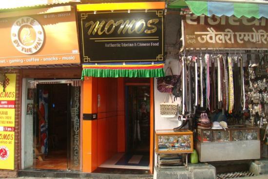 Momos Tibetan Restaurant: The Entrance to Momos