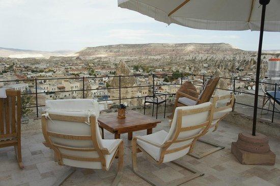 Mithra Cave Hotel: Balcony
