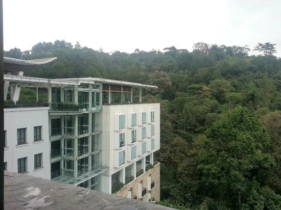 Padma Hotel Bandung: Wonderful view