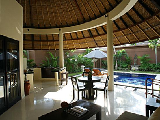 Dusun Villas Bali: One bedroom villa - roof