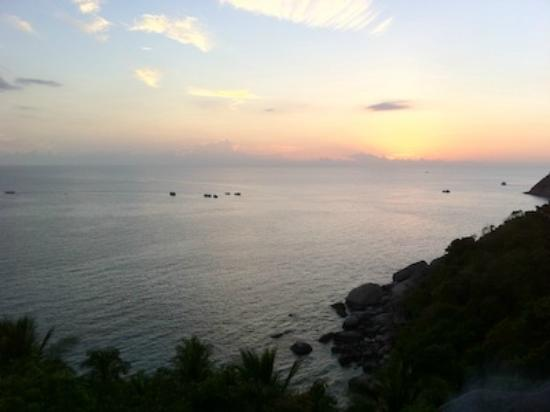 Aminjirah Resort: amazing sunset