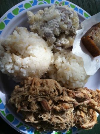 Hanalei Taro & Juice Company: plate lunch