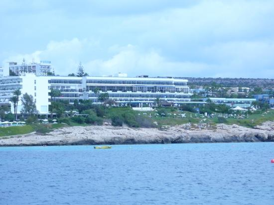 Atlantica Club Sungarden Hotel: Hotel from the sea