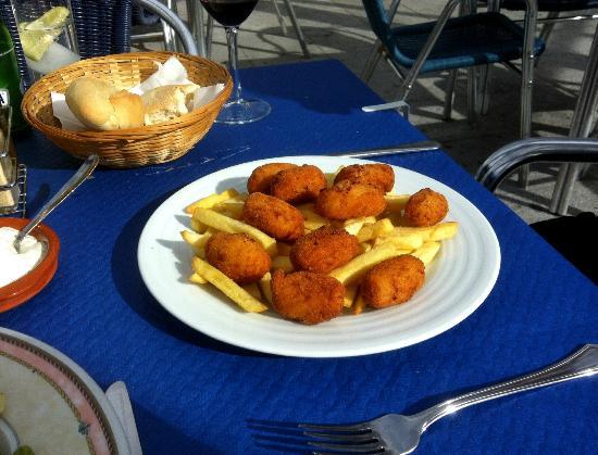 Bar Virtudes: Ham & cheese croquettes