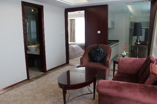 Howard Johnson Business Club Hotel Shaoxing: Lake View Suite