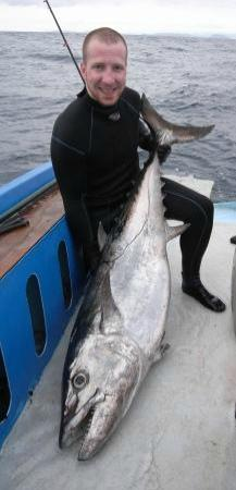 Orca Sakatia Spearfishing & Freediving Centre : Thomas's 47kg dogtooth tuna