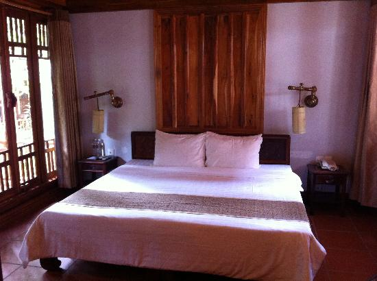 Long Beach Resort Phu Quoc : La chambre deluxe 21, double