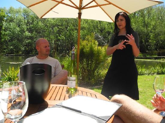 Keren's Vine: Radel-Stop beim Weingut Stark-Condé für ein Weintasting
