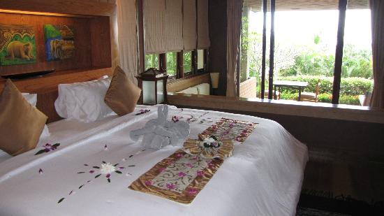 Ayara Kamala Resort & Spa: Grand Deluxe Villa bed room