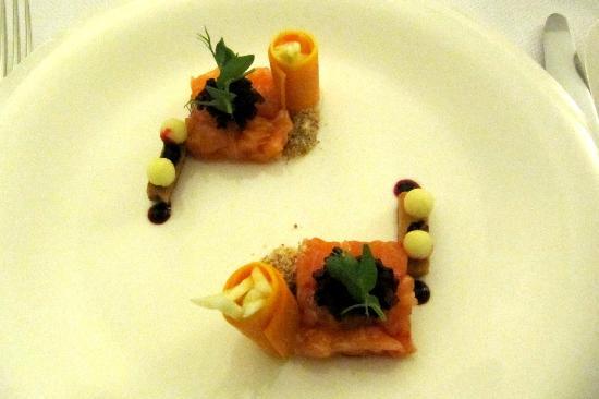 Hostellerie La Feuille d'Or : Gastronomische maaltijd