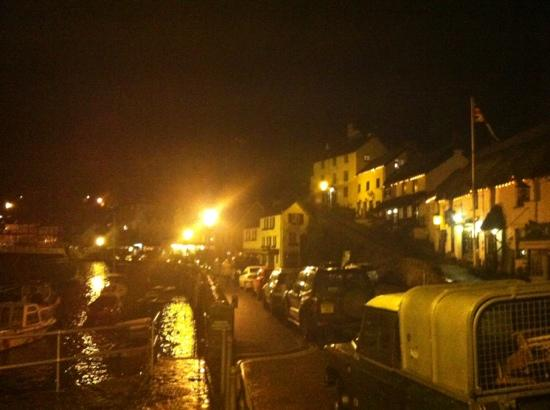 Lorna Doone House: lynmouth by night