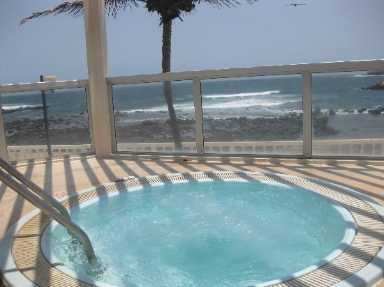 King Fahd Palace: piccola piscinetta idromassaggio