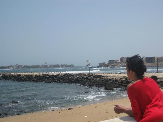 King Fahd Palace: spiaggia