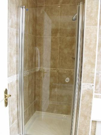 Castlewood House: Spacious shower