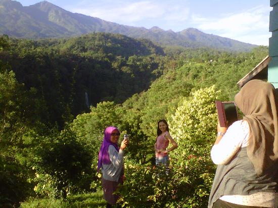 Pondok Senaru Cottages: Yes, this is a perfect spot to take pictures! ;)
