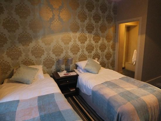 The Dumbuck House Hotel : Twin room