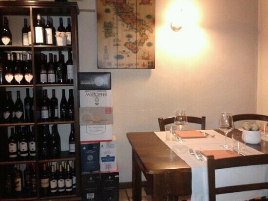 La Tavernaccia: interno ristorante