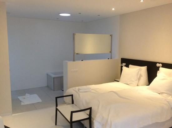 Asgard Hotel: Room 34, bath