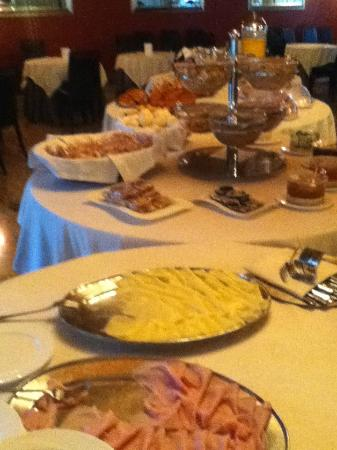 Hotel San Martino: Buffet colazione