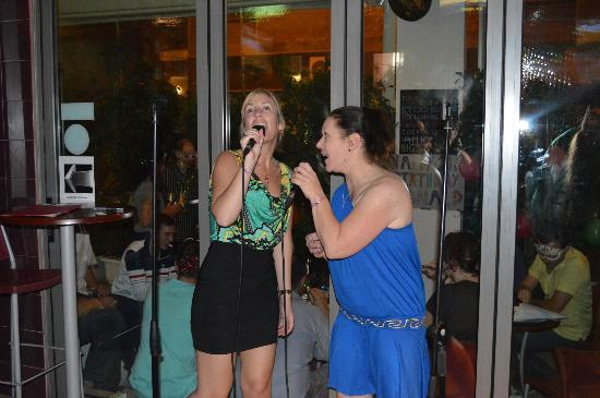 Athens Studios: Karaoke at the sports cafe