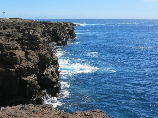 South Point (Ka Lae) and Green Sand Beach: From South Point