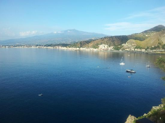 Atahotel Capotaormina: Etna Mt. early in the morning